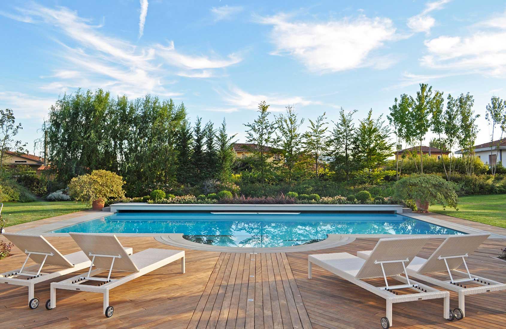 Realizzazione giardini lucca toscana 3g giardini - Green garden piscina ...