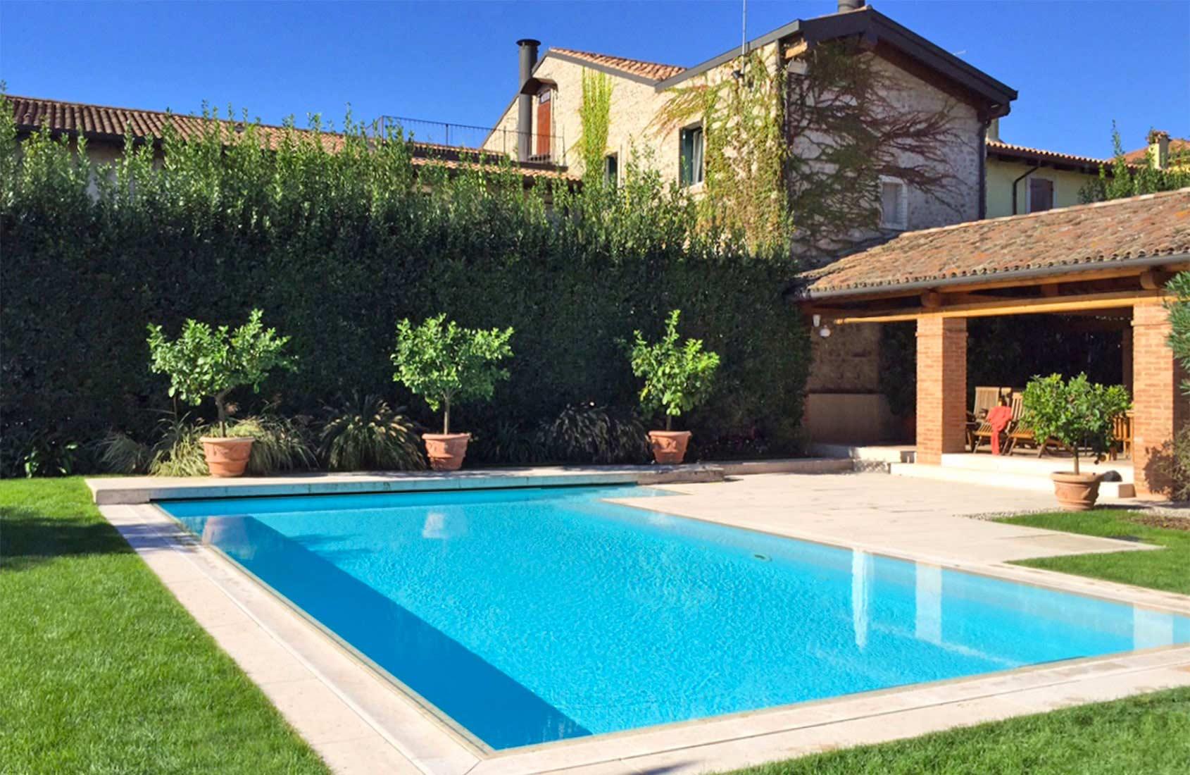 Progettazione giardino privato in campagna 3g giardini - Green garden piscina ...